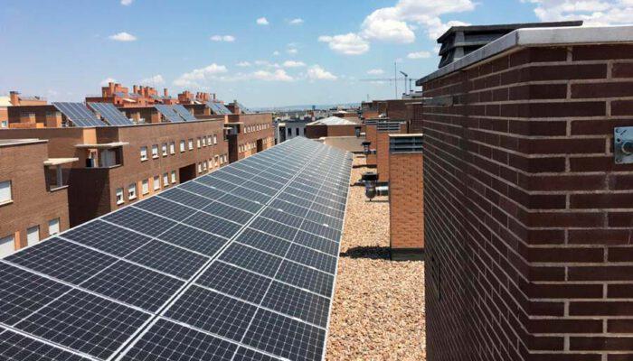 instalación fotovoltaica en Torrejón de Ardoz, Madrid